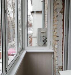 Балкон Алюминий с сайдингом4