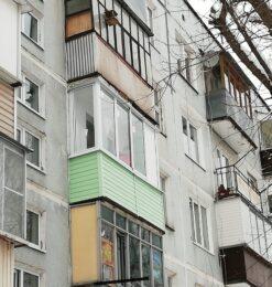 Балкон с отделкой — внейшняя1-2