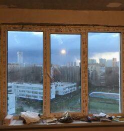 окно 3 створки 22
